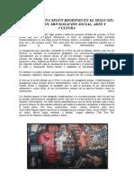 AMÉRICA LATINA SEGÚN REGIONES EN EL SIGLO XIX MIGRACIÓN, MOVILIZACIÓN SOCIAL, ARTE Y CULTURA
