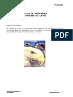 ESTRUCTURA DEL LENGUAJE TALLER DE SECRETARIA DE SALUD
