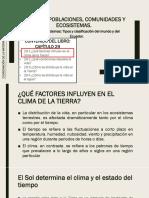 5-3 Ecosistemas Tipos y clasificación del mundo y del Ecuador_