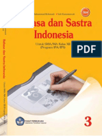 SMA-MA Kelas 12 - Bahasa Dan Sastra Indonesia (Program IPA &IPS)
