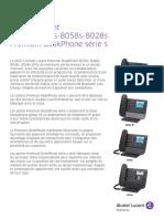 Alcatel-Lucent 8028S, 8058S, 8078S