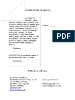 Petition for Special Action Beaver Et Al v Ducey