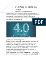 Marketing 4.0 Que es, Ejemplos, Objetivos y más