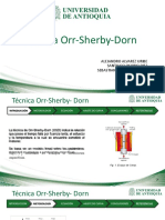 Técnica Orr-Sherby- Dorn