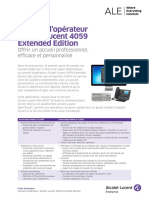 Fiche Technique Poste Opérateur sur PC (Alcatel 4059EE)