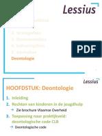deontologie STUDENTENVERSIE