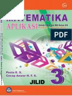 SMA-MA Kelas 12 - Matematika Aplikasi (Program IPA)