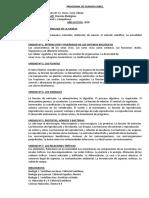 PROGRAMA LIBRE BIOLOGIA 1°AÑO GABRIEL CAMPOFOSCO