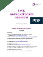 180 Proveedores Premium