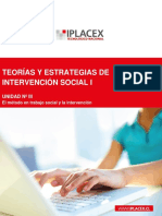 Teorías y Estrategias de Intervención Social