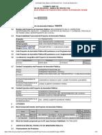 INTRANET DEL BANCO DE PROYECTOS - FICHA DE REGISTRO - NESHUYA-CURIMANA