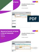 Manual de Consulta de Recibo y Ciclo de Facturación