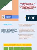 SUGERENCIAS DIDACTICAS UNIDADES DE MEDIDA.pptx