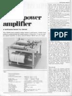 amp. 100 watt extracted