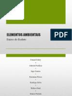 Urbanismo II - Elementos Ambientais.pptx