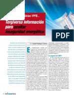 Agencia de noticias YPFB tergiversa informacion para ocultar inseguridad energetica
