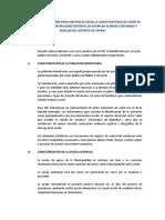 PROPUESTA DE ATENCIÓN PARA ASISTENCIA SOCIAL A CASOS POSITIVOS DE COVID 19 DE PARTE DE LA MUNICIPALIDAD DISTRITAL DE SAYÁN EN ALIANZA CON MINSA Y ESSALUD DEL DISTRITO DE SAYÁN.docx