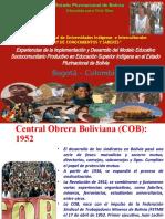 5. presentacion Bolivia
