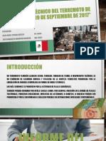 INFORME TÉCNICO DEL TERREMOTO DE MÉXICO,
