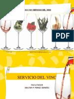 SVX3101 SERVICIO DEL VINO.ppt