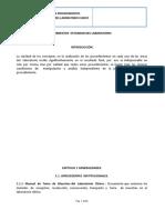 MANUAL DE PROCEDIMIENTOS  ESTANDAR DEL  LABORATORIO CLINICO.doc