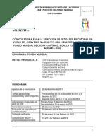 A. TDR SELECCION ENTIDADES EJECUTORAS PROYECTO VIH FONDO MUNDIAL V2