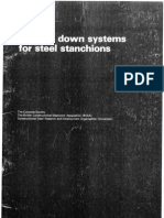 Holding Down Systems for Steel Stanchions