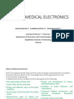 EC8073 MEDICAL ELECTRONICS_1 BY umw