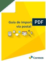 Guia de importacao via Postal