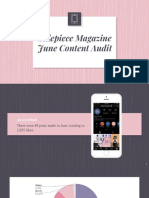 sidepiece magazine june content audit