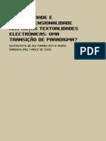 Transdimensionalidade em textualidades digitais-Entrevista de Rui a Pedro