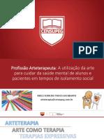 WEBINAR - ARTETERAPIA - RIKELI - MAIO 2020
