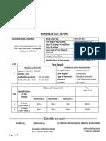 gelo HARDNESS REPORT For PB sheet
