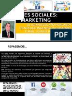 REDES SOCIALES -UNIDAD 02 - MARKETING