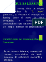 LEASING FINANCIERO 2018