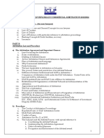 Diploma in Arbitration Syllabus