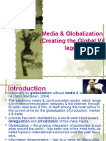 GLOBALIZATION AND MEDIA CREATING THE GLOBAL VILLAGE