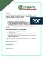 INSTRUCTIVO OPERATIVOS PDV POSTULANTE EXTERNO