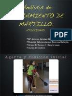 12. Lanzamiento de Martillo
