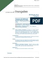 NF DTU 25.1 P1-2