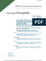 DTU 25.31 (NF P72-202-2)