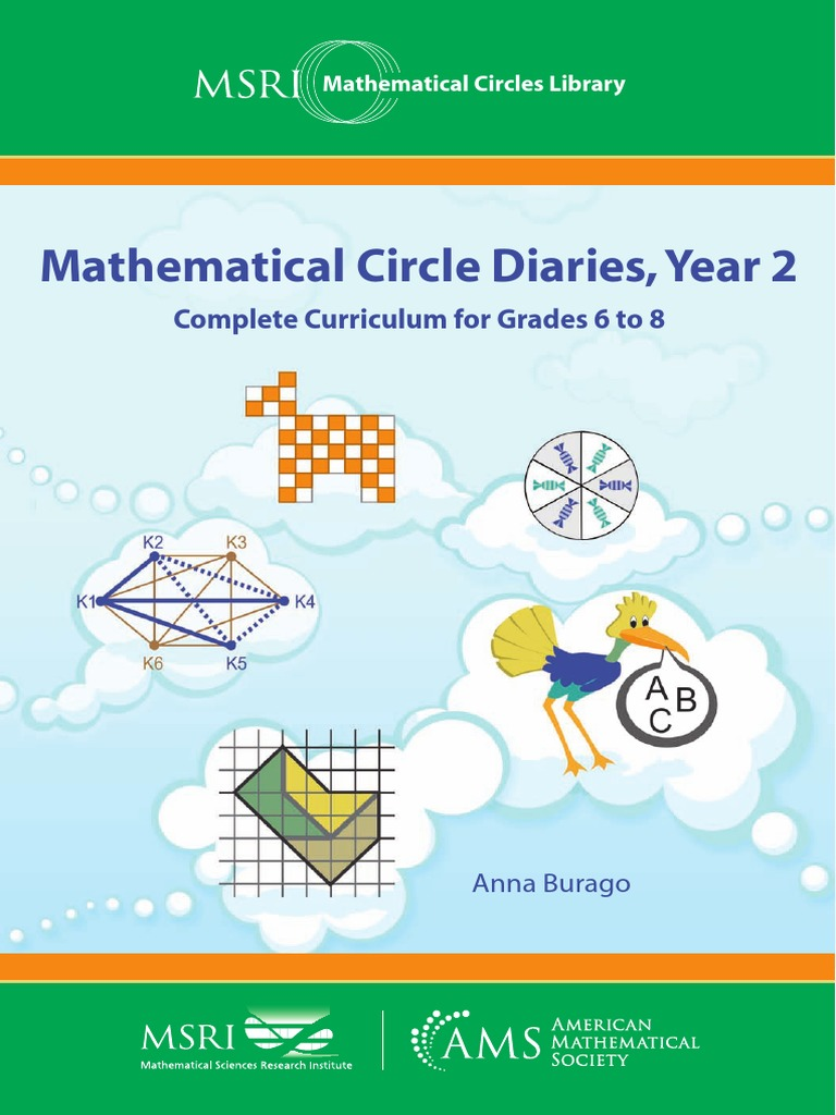 Mathematical Circle Diaries Year 2 Complete Curriculum For Grades 6 To 8 Combinatorics Teaching Mathematics [ 1024 x 768 Pixel ]
