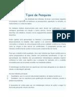 Métodos e Tipos de Pesquisa.docx