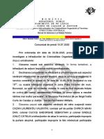 Comunicat Dosar 10 August DIICOT 15.07.2020