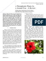Phyto-Therapheutic Plants As Miracle Around You – A Review