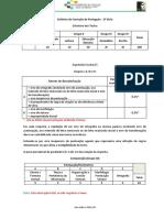 Estrutura de Testes e Critérios de Correção de Português 2º e 3º Ciclos (19-20)