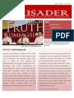 The Crusader - January 15, 2011 (Vol. 1, No. 4)