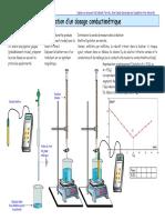 Dosage-conductimetrique