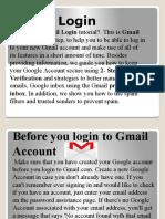 How To Fix Gmail Login Problem 1-888-260-1297