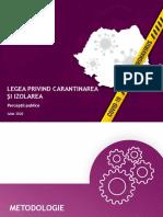 Ires_Agenda Publica_Legea carantinarii si izolarii_Sondaj de opinie_Iulie 2020